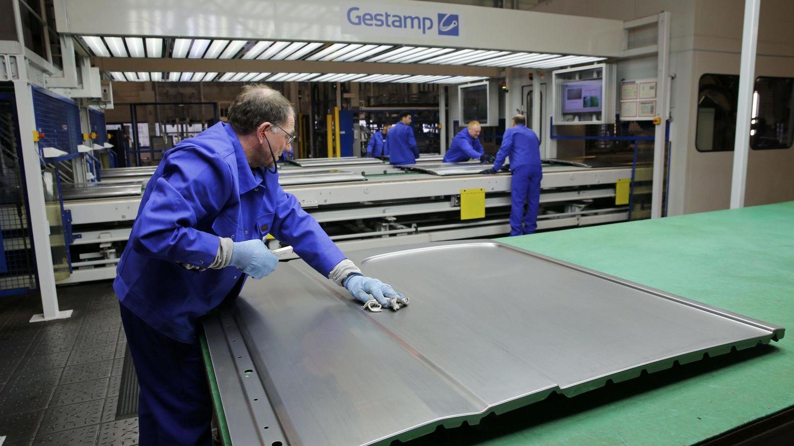Foto: Empleados de Gestamp en Alemania. (Reuters)
