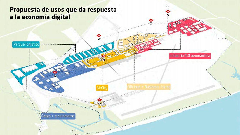 Aena pone en órbita el gran desarrollo de El Prat con una inversión de 1.264 millones