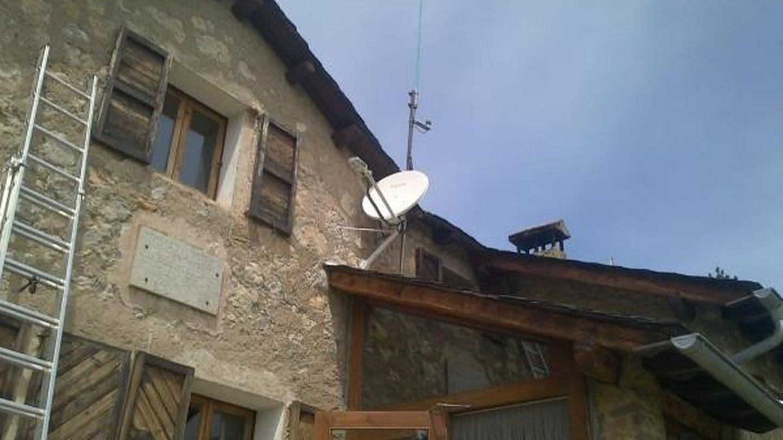 Instalación de Eurona en una zona rural. (Foto: cedida)