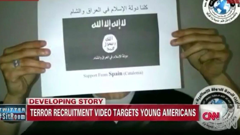 Foto: El yihadista 'catalán' de la CNN