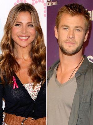 Elsa Pataky se casa por sorpresa con el actor Chris Hemsworth