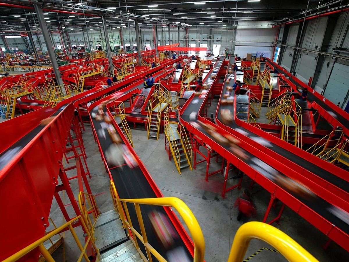 Foto: Centro logístico.