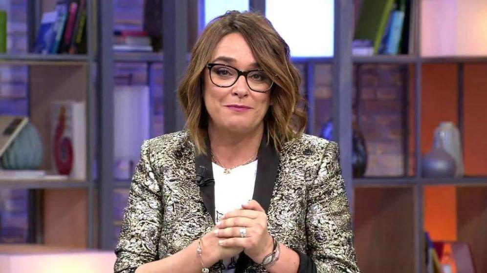 Foto: Toñi Moreno en 'Viva la vida'. (Mediaset España)