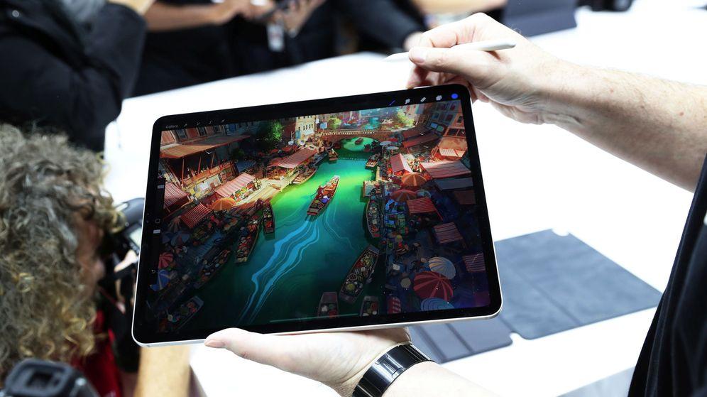 Foto: Un juego en uno de los iPad Pro de Apple. (Reuters)