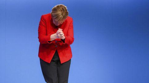 El saludo de Merkel