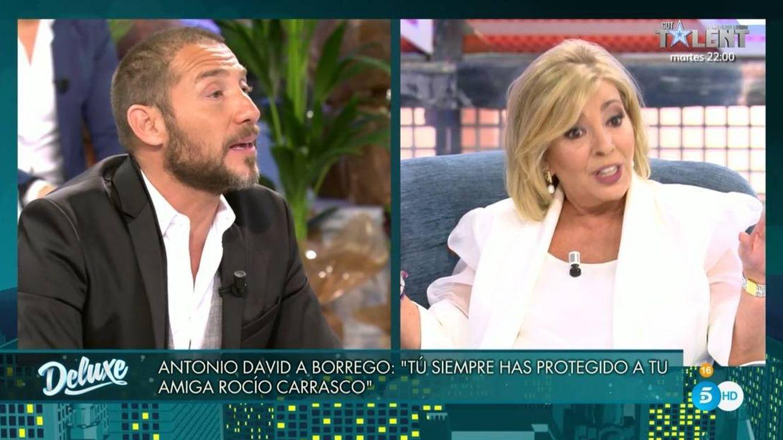 Brutal enfrentamiento entre Carmen Borrego y Antonio David Flores en 'Sábado Deluxe'