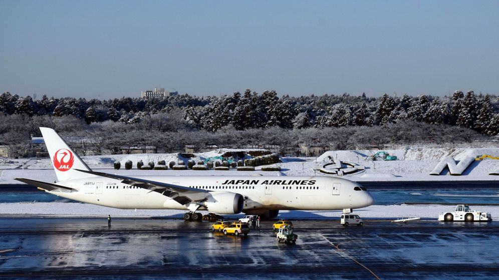 Foto: Un avión en el aeropuerto de Narita, cerca de Tokio. (EFE)