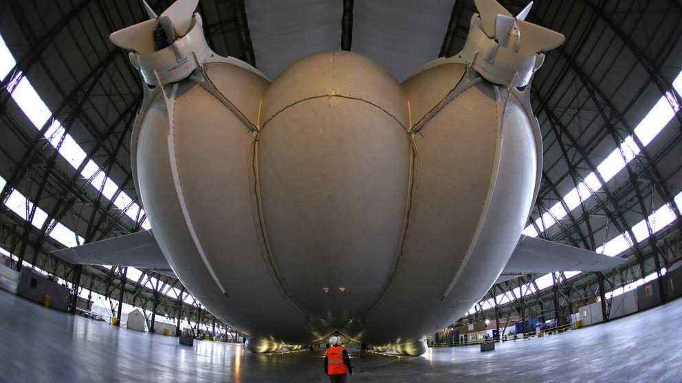 Un vistazo de cerca al Airlander 10, la aeronave más grande del mundo