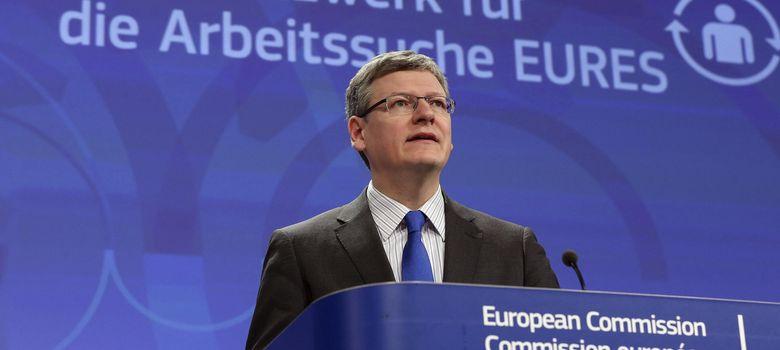 Foto: El comisario europeo de Empleo y Asuntos Sociales, Laszlo Andor. (EFE)