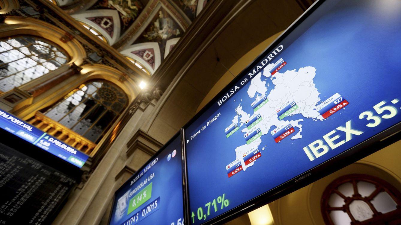 Foto: Imagen de archivo de la Bolsa de Madrid. (EFE)