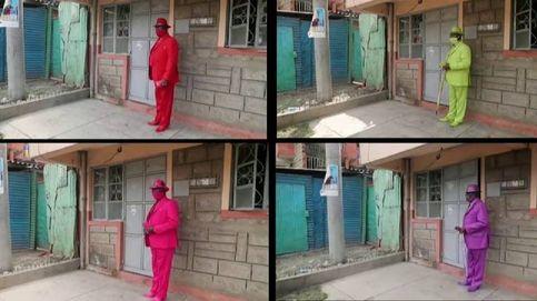 Maina Mangi, un referente que reparte alegría y color con sus trajes en Nairobi