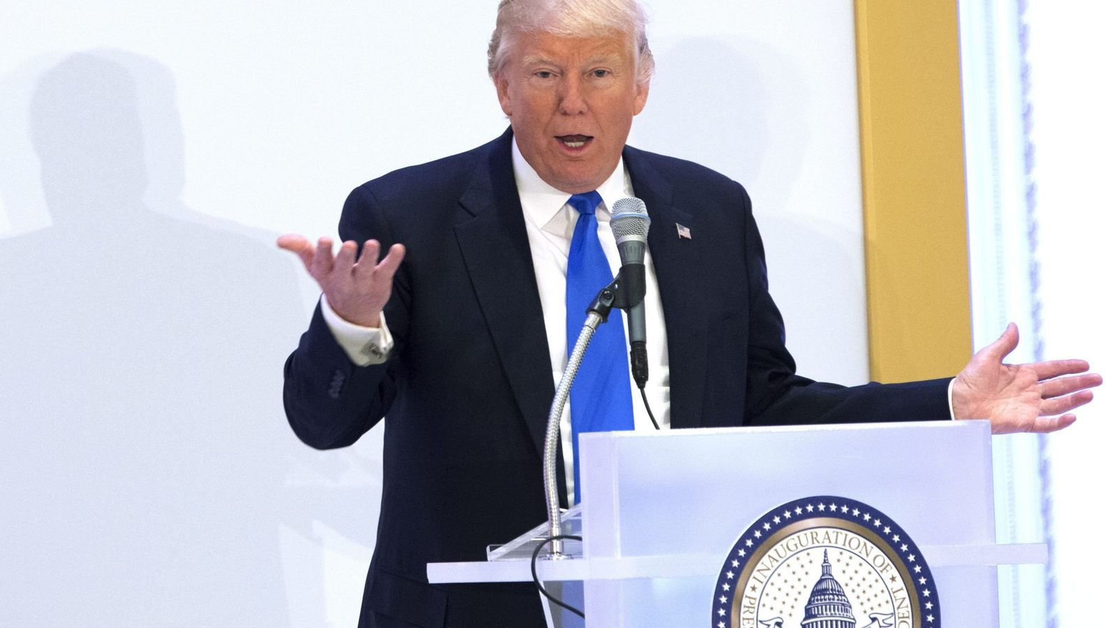 Foto: Trump en Washington