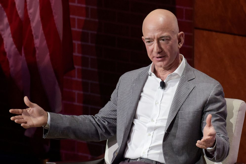 Foto: Jeff Bezos, CEO de Amazon. (Reuters)