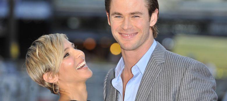 Foto: Elsa Pataky y Chris Hemsworth el pasado 2 de septiembre. (I.C.)
