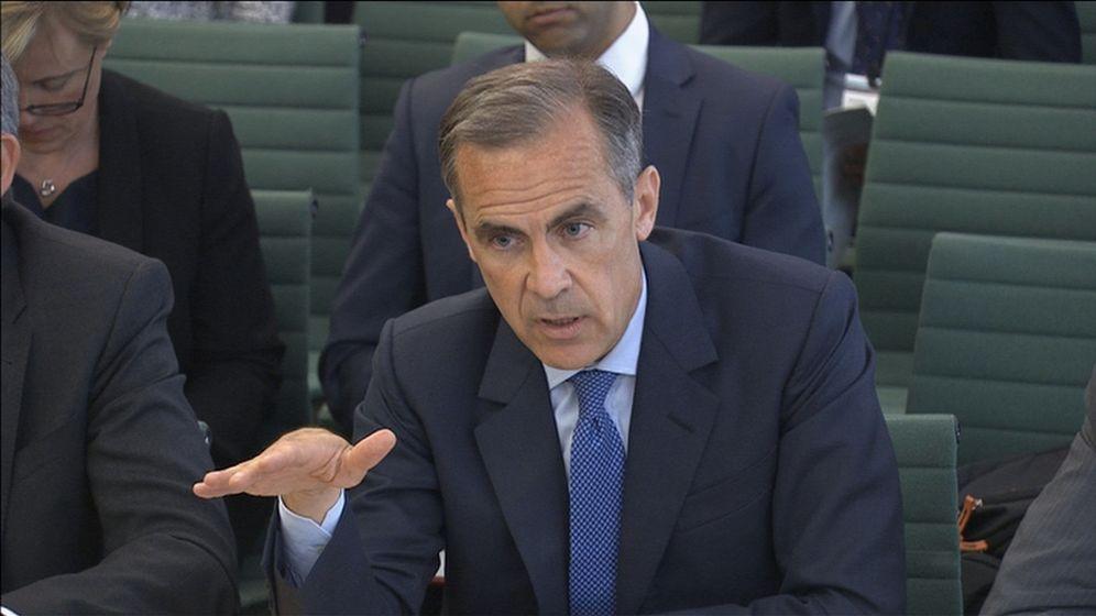 Foto: El gobernador del Banco de Inglaterra, Mark Carney (Reuters)