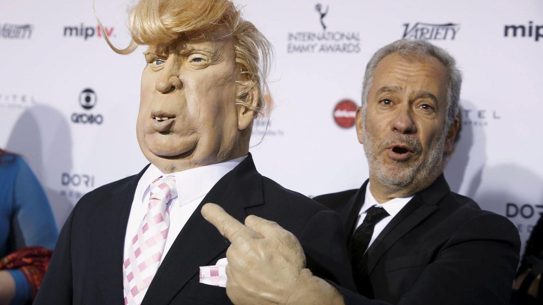 Foto: Una marioneta de Donald Trump en la gala de los Emmy de 2015