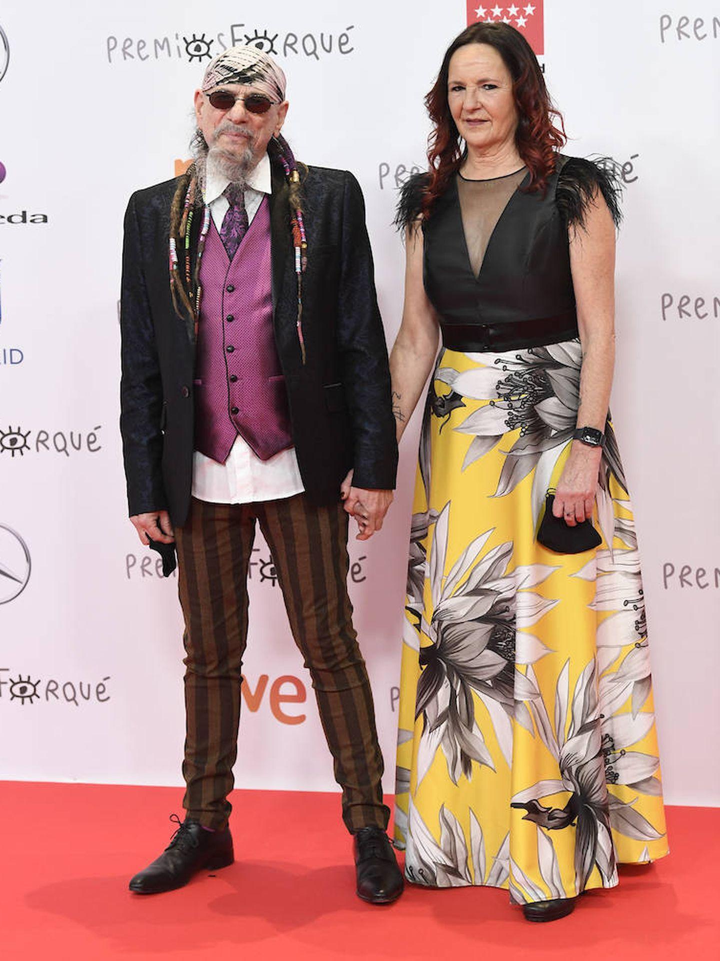 Enrique Villarreal, 'El Drogas', junto a su pareja. (Limited Pictures)