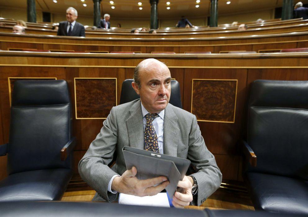 Foto: El ministro de Economía y Competitividad, Luis de Guindos. (EFE)