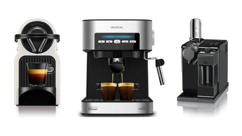 Cafeteras Nespresso para disfrutar del café en pequeñas cápsulas