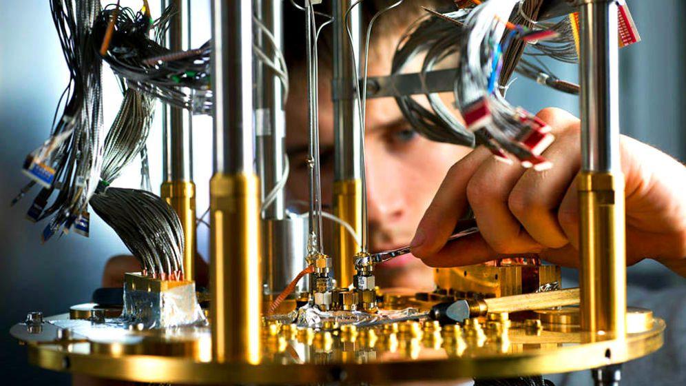 Foto: Prototipo de un ordenador cuántico de D-Wave.