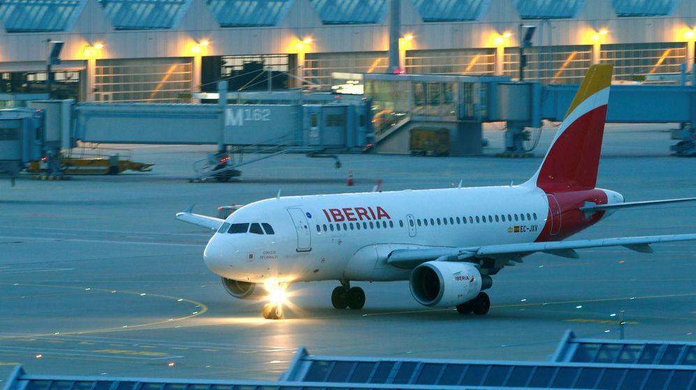 Foto: Un avión de Iberia en el aeropuerto internacional de Múnich, Alemania. (Reuters)