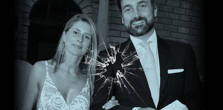 Foto: Javier Soto y María Chávarri en un fotomontaje realizado en Vanitatis
