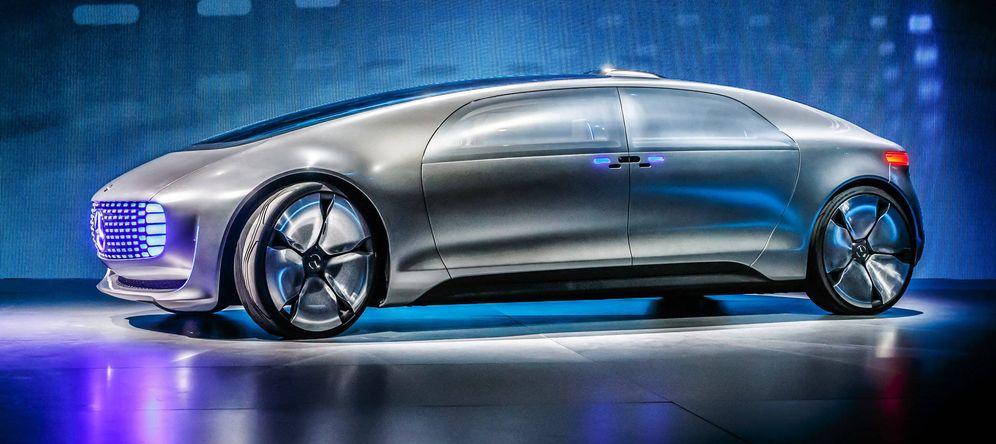 Foto: Uno de los prototipos de coche autónomo de Mercedes. (Foto: Reuters)