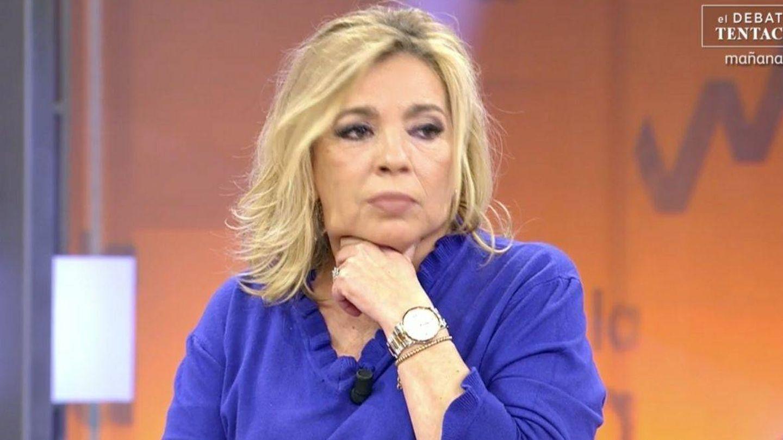 Carmen Borrego, en 'Sálvame'. (Telecinco)