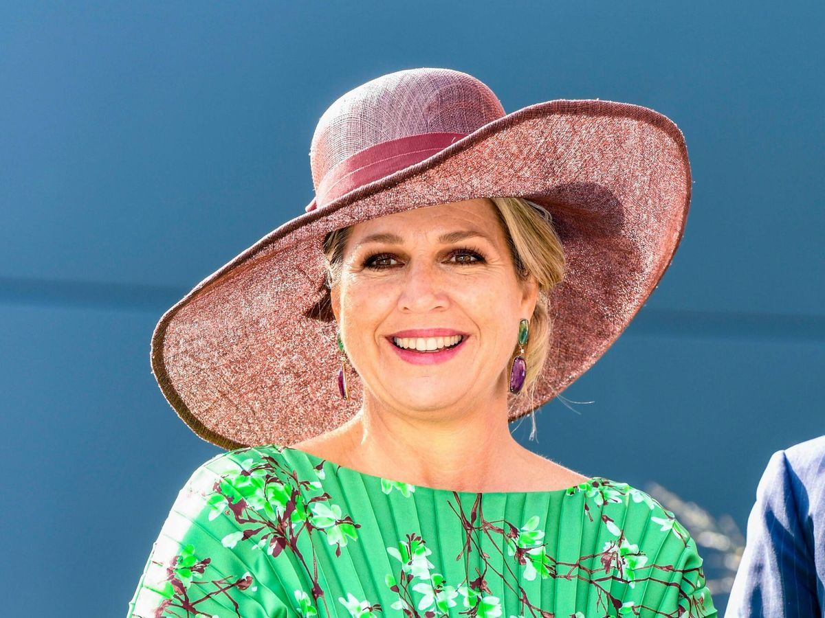 Foto: La reina Máxima, en Salland. (Cordon Press)