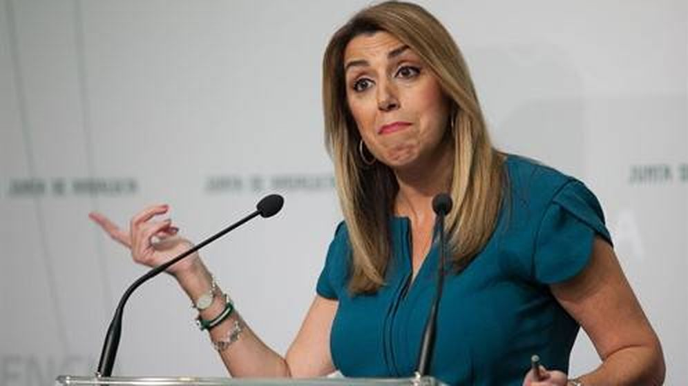 Foto: En Sevilla, la presidenta de la Junta, Susana Díaz. Foto: EP