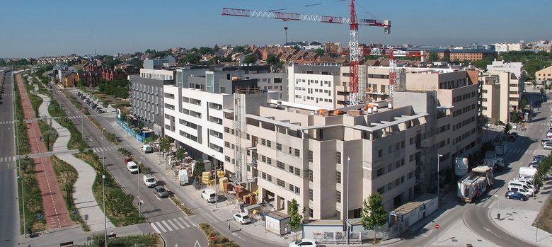 Foto: Valdebebas, uno de los últimos grandes proyectos urbanísticos de Madrid.
