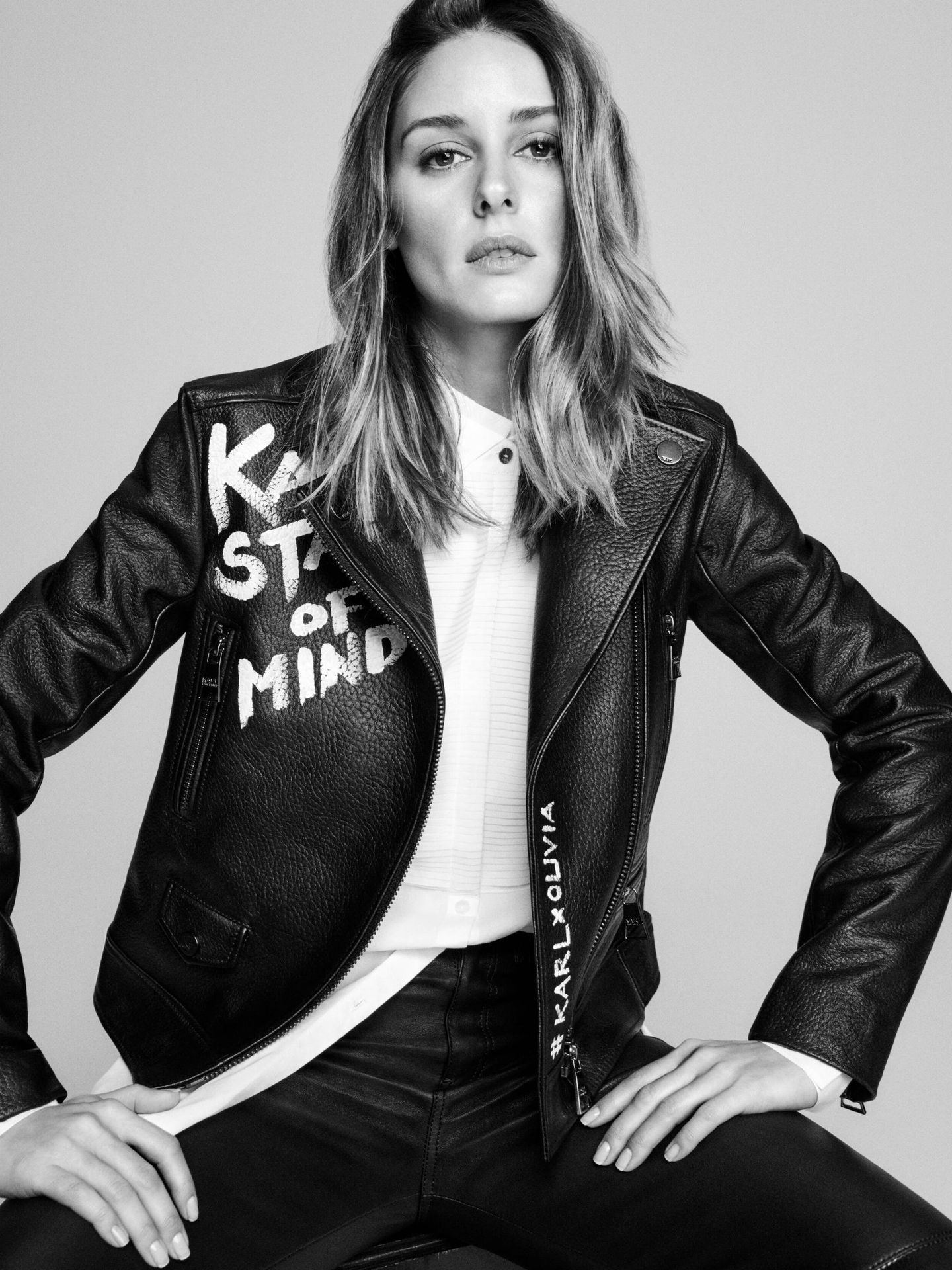 Olivia Palermo. (Imagen: Karl Lagerfeld)