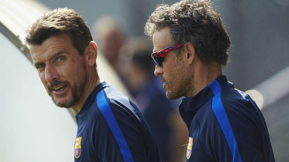Luis Enrique inflama el Camp Nou: épica para ceder su silla al amigo Unzué
