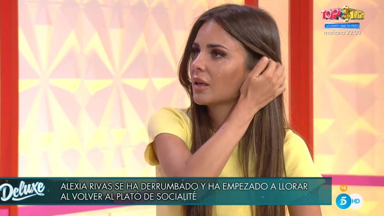 Alexia Rivas, en 'Socialité'. (Telecinco).