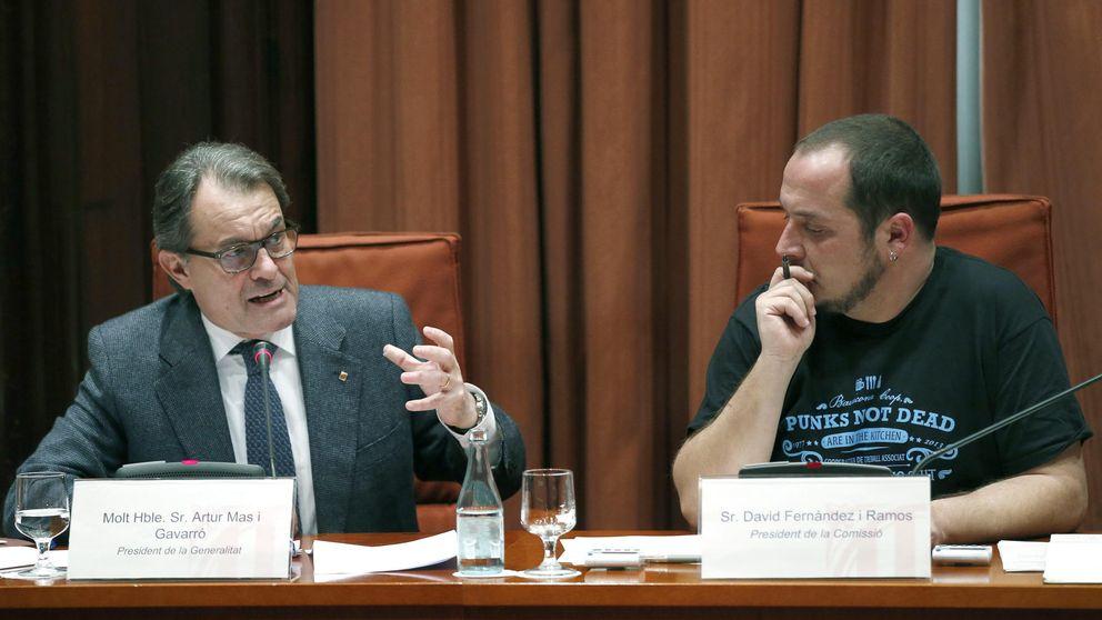 La CUP, el extraño 'socio' de Mas que denuncia un complot de PP, PSOE y C's