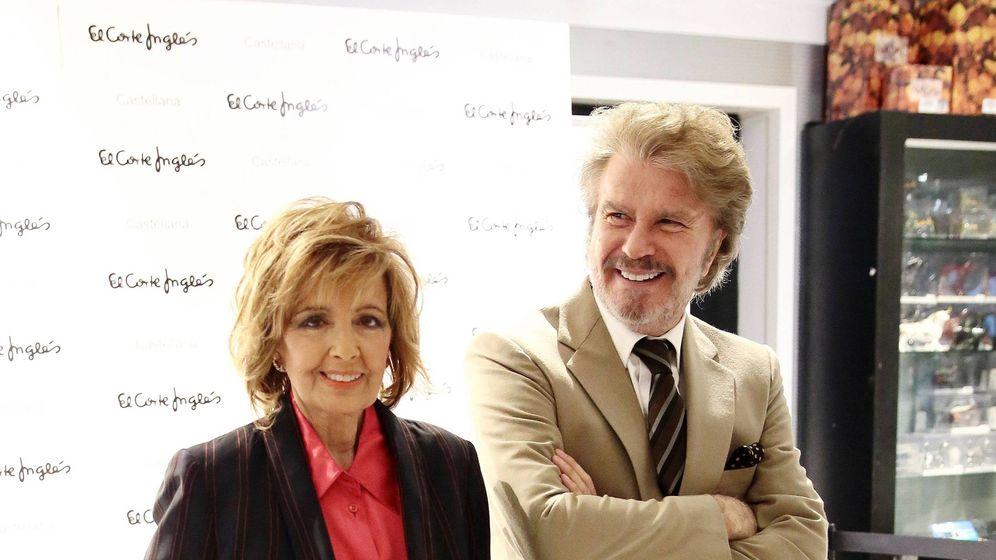 Foto: María Teresa Campos y Bigote, en una imagen de archivo. (Cordon Press)