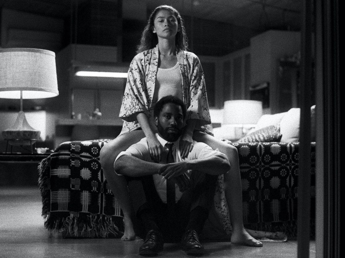 Foto: Zendaya y John David Washington, en la última película de Sam Levinson. (Netflix)