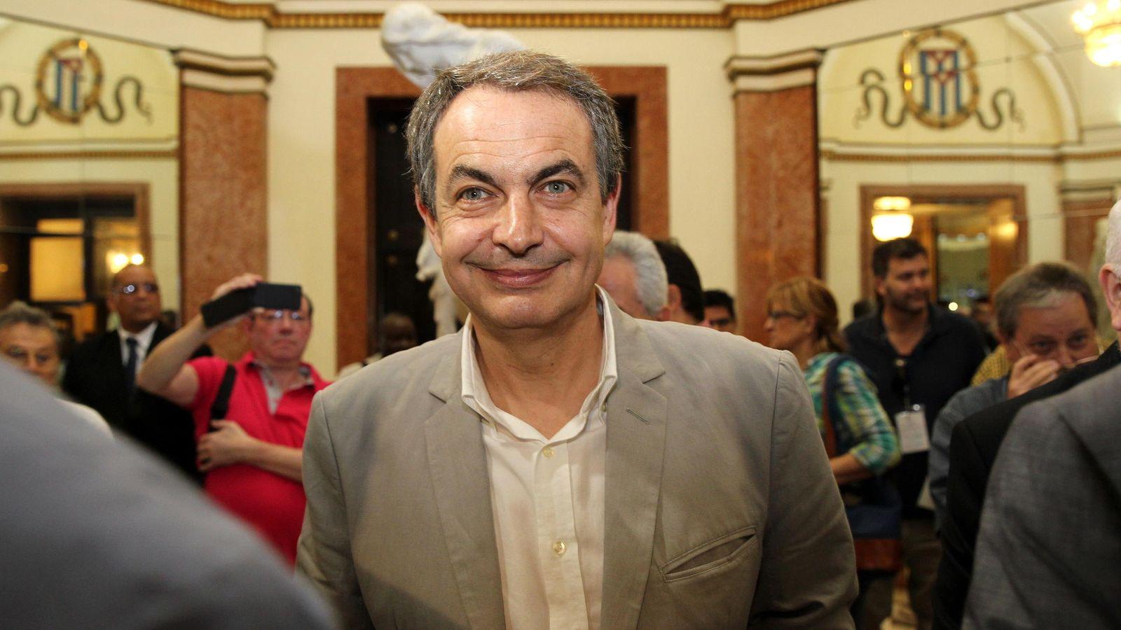 Foto: El expresidente del Gobierno, José Luis Rodríguez Zapatero (EFE)