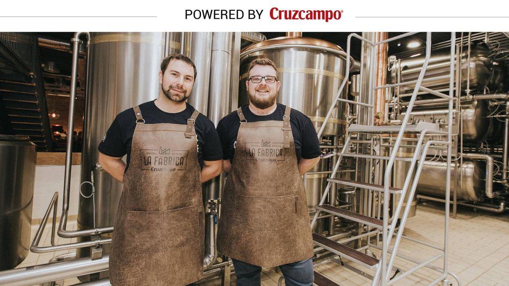 Foto: Los maestros cerveceros Jorge Varela y Juan Navarro.