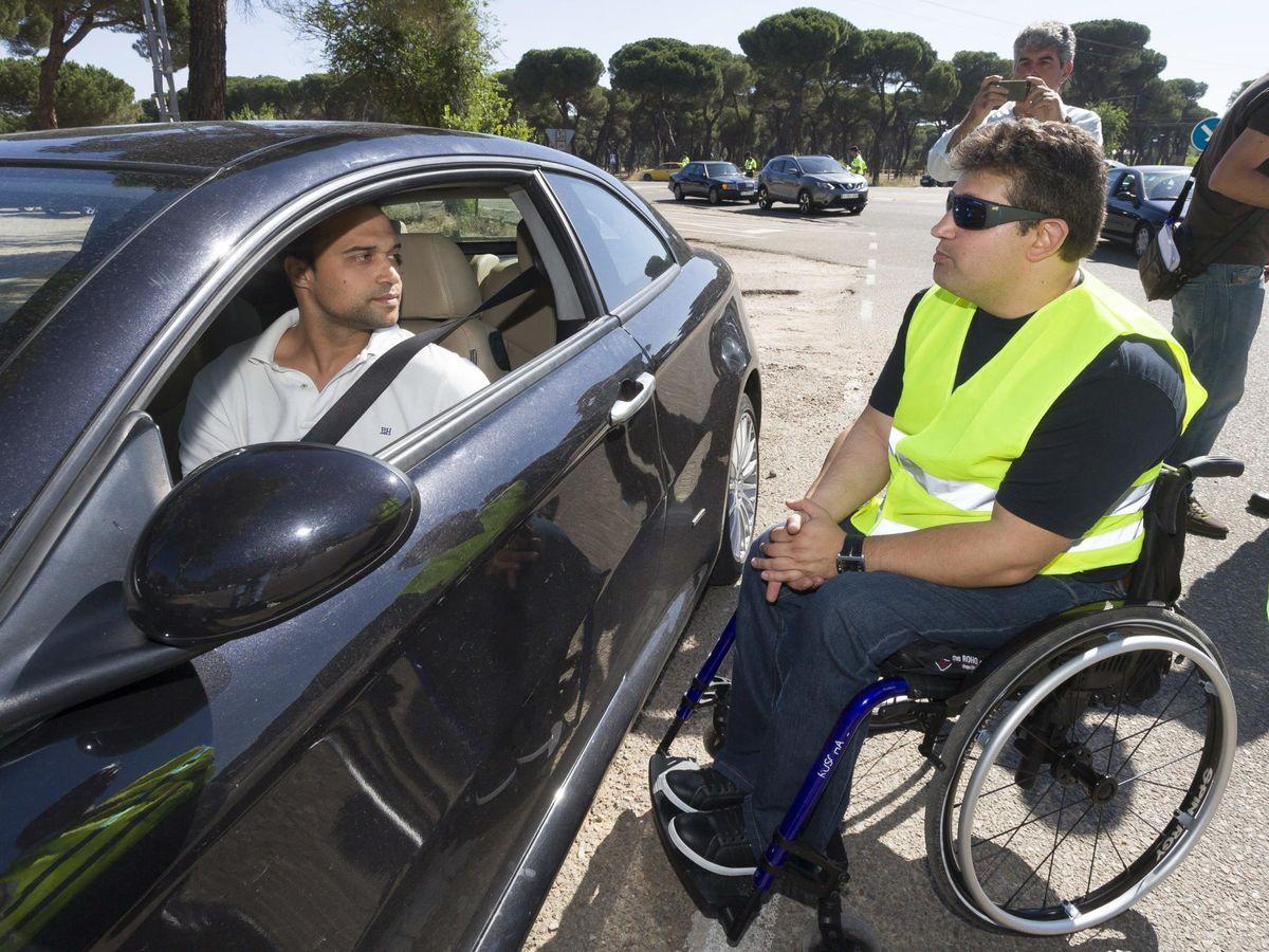 Foto: Inicio de la campaña especial de control de la velocidad. (EFE)