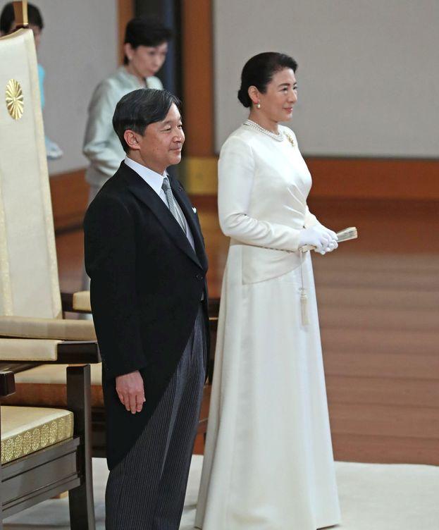 Foto: Los emperadores de Japón.(EFE)