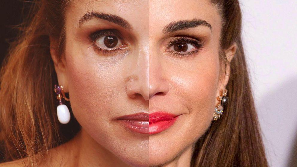 Los últimos retoques estéticos de la reina Rania (o 'Rara') de Jordania