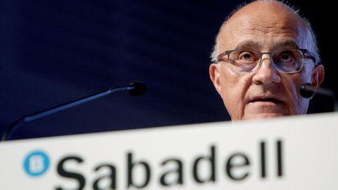 Banco Sabadell bate previsiones, a pesar de ganar un 56% menos, y se dispara en bolsa