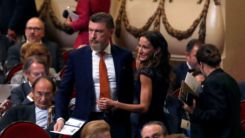 Telma Ortiz y Gavin Bonnar, en la última edición de los Premios Princesa de Asturias. (EFE)