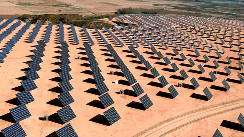 Foto: La huerta solar Monte Alto de Milagro, en la provincia de Navarra