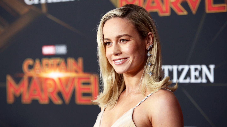 Brie Larson, en la première de 'Capitana Marvel' en Los Ángeles. (Getty)