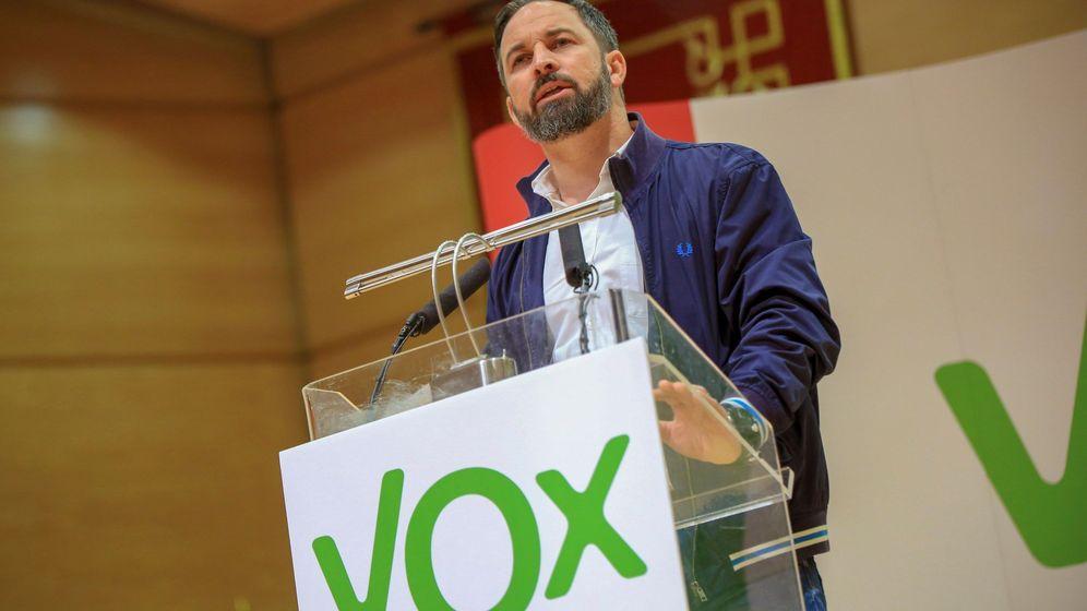 Foto: El presidente nacional de Vox, Santiago Abascal. (EFE)
