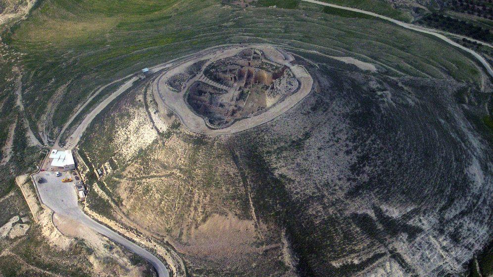 Foto: La fortaleza del Herodion, diseñada por Herodes, donde se encontró el anillo. (CC)