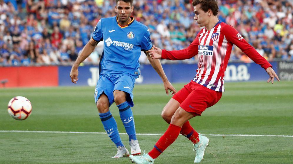 Foto: Un partido del Getafe-Atlético en 2018. (Reuters)