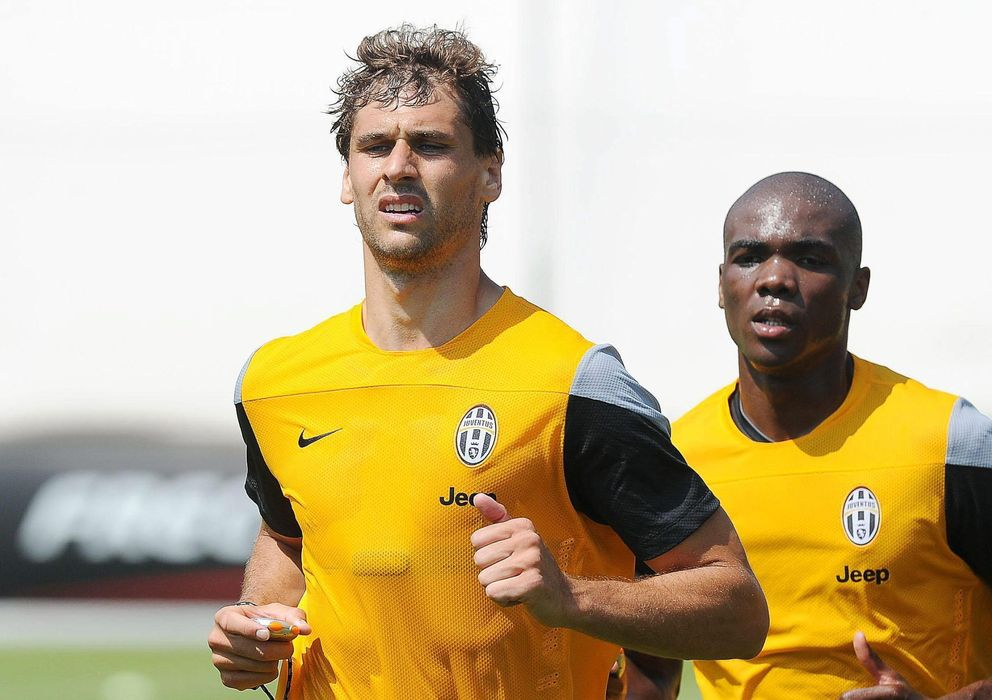 Foto: Fernando Llorente, en un entrenamiento con la Juventus (Reuters).